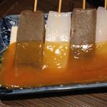 築地貝鮮 地酒の出浦 - 味噌田楽