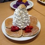 44212982 - Pancakes~Strawberry Whip Cream w/Nuts