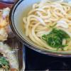木村屋 - 料理写真:海老かき揚げうどん、ベツザラ