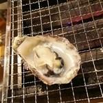 第二漁村 浜焼センター あぶりや - 牡蠣・・・小さい。。。