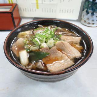 いずみ食堂 - 料理写真:ブタ肉そば(800円)