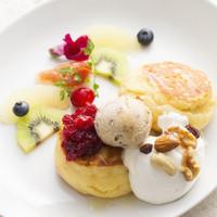 天上のビーガンパンケーキ-Vegan Pancakes