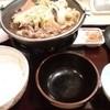 すき家 - 料理写真:牛すき鍋定食