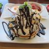 コロニー - 料理写真:チョコバナナセット
