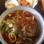 花まんま - 料理写真:山菜うどん500円