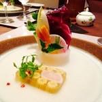 マーメイド - 料理写真:北海道産帆立 地野菜のテリーヌ