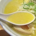 らーめん 孫子 - しおラーメン(ストレート麺)750円