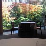 三瀧荘 - 席からの眺め