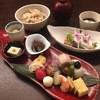 日本料理 花坊-hanabo- - 料理写真:ランチ風・季節の野菜サラダ ・八寸膳 ・炊き込み御飯 ・赤出し ・甘味