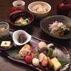 日本料理 花坊-hanabo- - 料理写真:ランチ月・季節の野菜サラダ ・吸物 ・八寸膳 ・炊き込み御飯 ・赤出し ・甘味