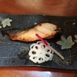44246441 - 銀鱈の西京焼き