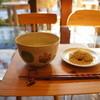 富士屋 花筏 - 料理写真:お抹茶と栗粉もちのセット