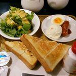 ラック珈琲店 - モーニングサービス 630円