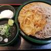 ゆで太郎 - 料理写真:朝そば(冷・温泉卵)2015.11.9