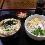 三よし - カツ丼セット620円(*´∇`*)やすー