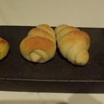 ラ ソスタ - パン3種