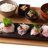 白鳥丸 - 料理写真:鮮魚地魚の刺身御膳
