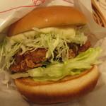モスバーガー - 料理写真:釧路ザンタレバーガー 甘酢たれ 380円
