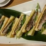 居酒屋 南風 - 料理写真:サバのホットサンド