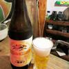 カドヤ - ドリンク写真:瓶の一番搾り