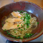 いしぐふー - 料理写真:鶏あぶりそば(大)