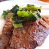 牛たん にし - 料理写真:野沢菜と一緒に食べても美味しい♪