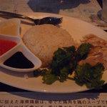海南鶏飯食堂2 - こちらが海南鶏飯☆