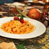 道産小麦のパスタ屋さん ミールラウンジ - 料理写真:道産ホタテの気まぐれトマトソース