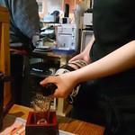 かしわや - ドリンク写真:日本酒