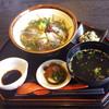 出雲須佐温泉ゆかり館 - 料理写真:漬けサバ丼