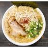 八起 - 料理写真:「魚介豚骨ラーメン」(2015.09)