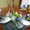 ほその - 料理写真:アジのたたきとシメサバ