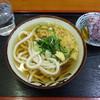 セルフうどん すずめ - 料理写真:かけそのまま 小 2015.10
