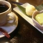桜山 珈琲 - 日替わりおやつ0円とブレンド450円