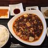 明香音 - 料理写真:麻婆豆腐定食