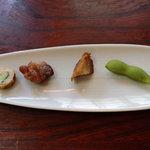 食処 鶴天 - サービスの前菜