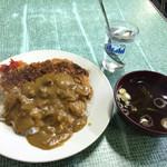 だるま食堂 - カツカレー 500円税込