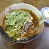 丸徳 - 料理写真:春菊天ぷらそば