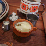 cafe zakka  hinatabocco - たっぷりのはちみつとバター☆