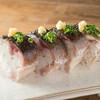 それがし - 料理写真:炙り〆鯖の棒寿司