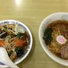 幸楽 - 料理写真:ラーメン+半野菜丼800円