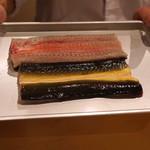 会席料理 岸由 - 村さんからの 天然鰻