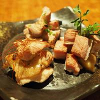 1)塩麹香醸焼き三品盛り合わせ