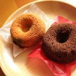 百姓屋 - 料理写真:焼き米粉ドーナツ