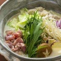 14時間煮込むスープが絶品。純度100%お鍋1600円~
