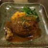 ダイニングマサラ - 料理写真:荒挽きハンバーグ(15-11)