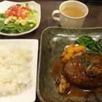 ダイニングマサラ - 荒挽きハンバーグ(15-11)