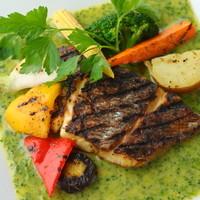 ◇本日のお魚料理グリル 青海苔バターソース