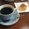 はぜや珈琲 - 料理写真:ブレンド(リッチ)&メイプルブリュレバウム