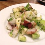 44442145 - 蛸とセロリのサラダ